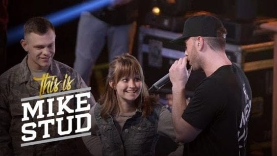 Onstage Military Homecoming Surprise   This Is Mike Stud   Esquire Network