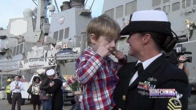 The USS McFaul's return – Homecoming 603 Seg A 2016
