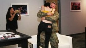Military Homecoming: Palmer's Fiance Surprises Her After Deployment